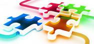 puzzle obrázek znázorňující - reklama, SEO i PR články 5v1 u Tipy a nabídky
