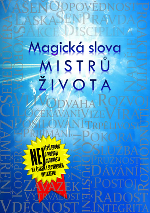 titulka ebooku Magická slova Mistrů života