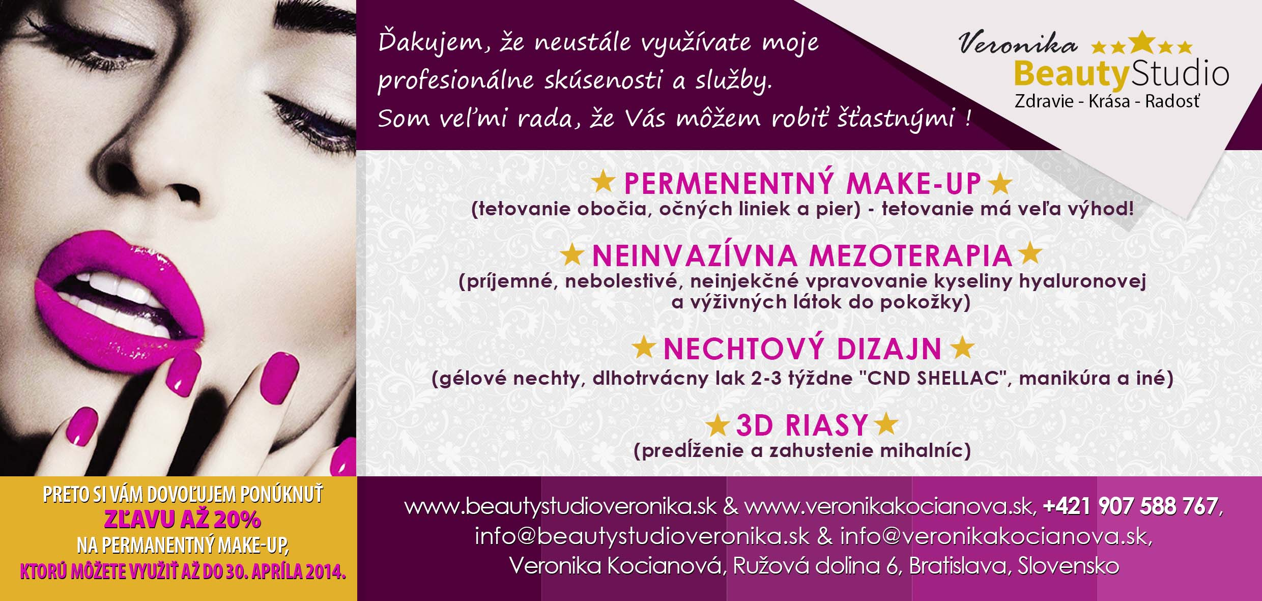 permanentní make up veronika kocianová