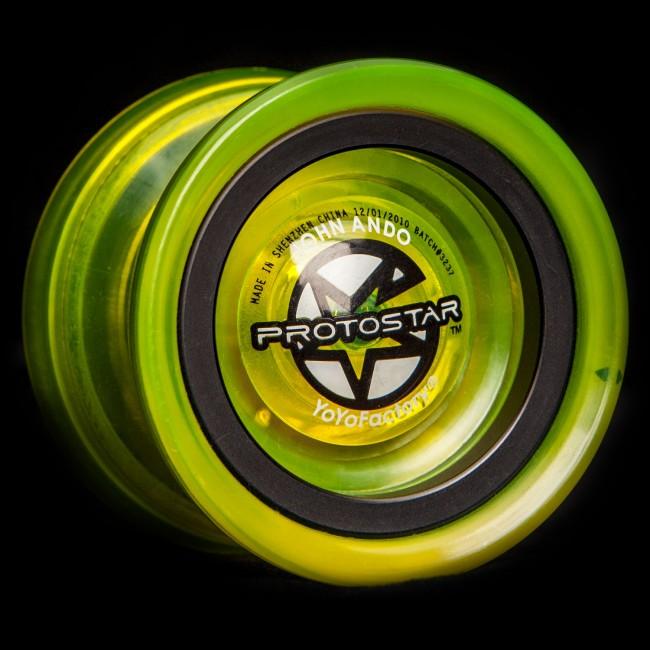 Zelené YoYo Protostar