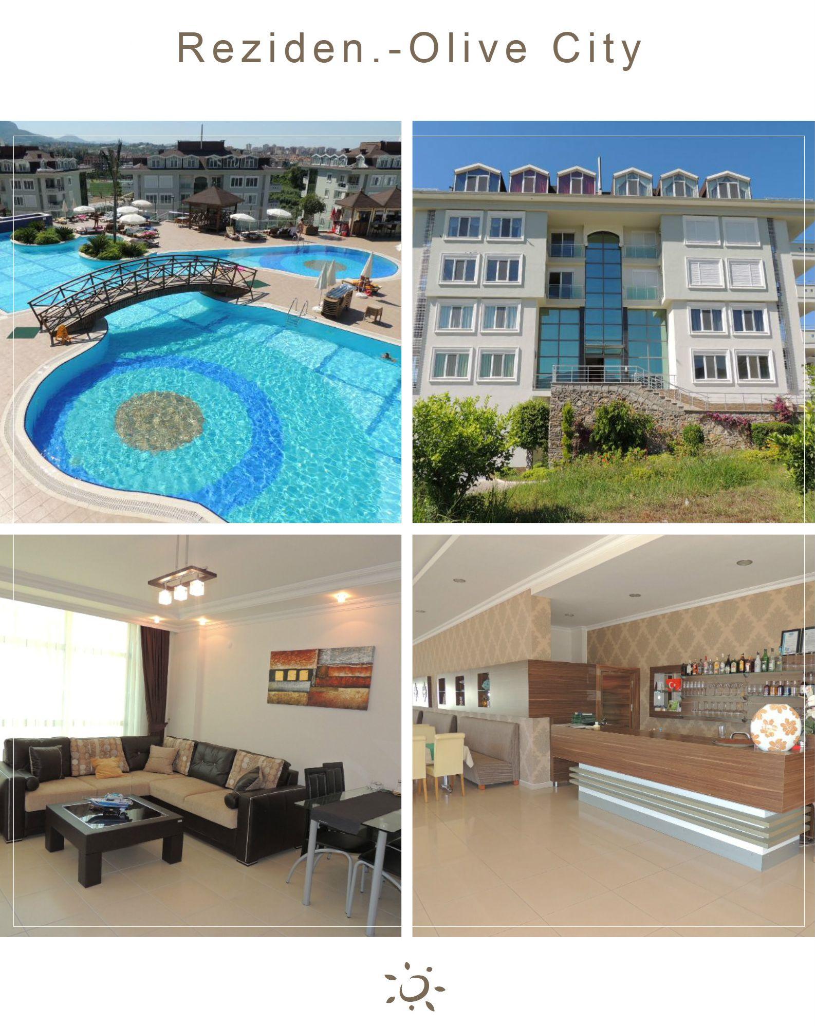 """Levná dovolená v Turecku - Ubytování v apartmánu """"Olive City"""""""