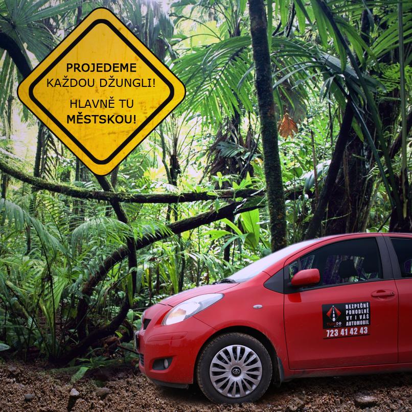 Naše posádky projedou každou džunglí. I tou městskou.