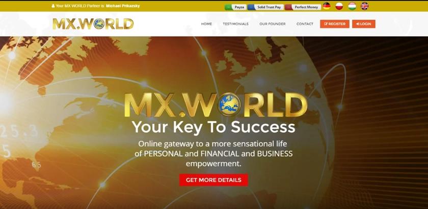 Výdělek na internetu s MXRevShare - MX world