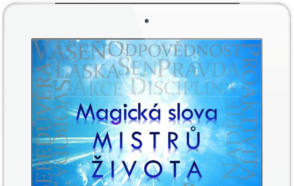 """Kniha Magická slova Mistrů života opisuje to, čo potrebujete k tomu, aby ste žili život taký, ako žijú úspešní ludia.  eBook je zrozumitelný. Návody a úlohy, ktoré dostávate, sú tiež velmi užitočné. Na okrajoch nájdete aj citáty od velikánov podnikania a osobného rozvoja.  Všetko, čo čítate, stojí preto na pevnom základe skúseností tých, ktorí vo svojej oblasti života dosiahli najvyššieho stupňa úspechu alebo expertízy.  Ak chcete dosiahnut taký úspech, ako dosiahli vyššie spomínaní ludia, odporúčam vám siahnut po tejto knihe a prečítať si ju.  Je to zbierka informácií, ktoré by sa dali kľudne """"rozpitvať"""" do 37 kníh.  Tu ich máte v jednej a bolo k tomu potreba iba niečo cez 350 strán.  Musím vás tiež upozorniť, že Magická slova Mistrů života možno """"zhltnete na jeden šup"""", pretože informácie v nej sú podávané naozaj pútavo."""